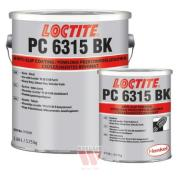 Loctite PC 6315 BK big foot, 2K - 6,46 kg (anti-slip resin, black)